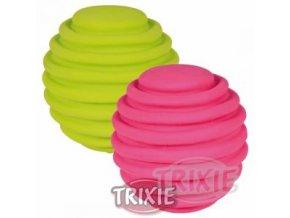 Pískací latexový míček