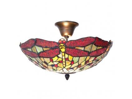 Lustry a stropní lampy Tiffany