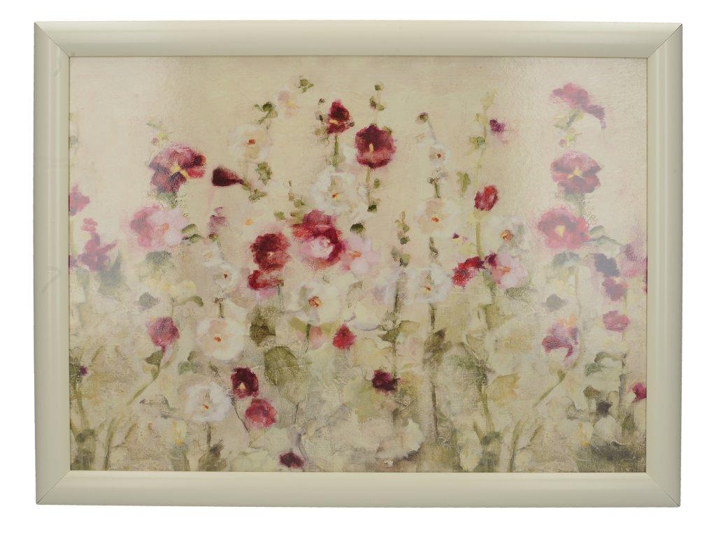 Creative Tops - Servírovací tác s polštářem Wild Field Poppies /44*33 cm/