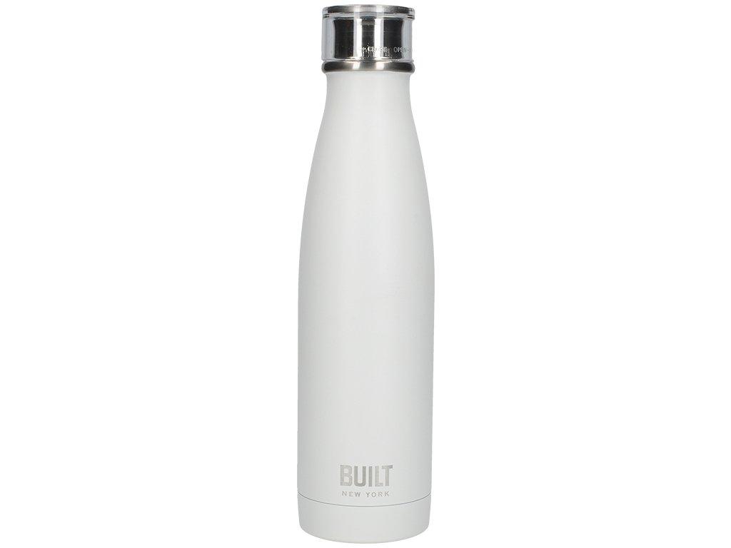 Láhev na vodu Built bílá