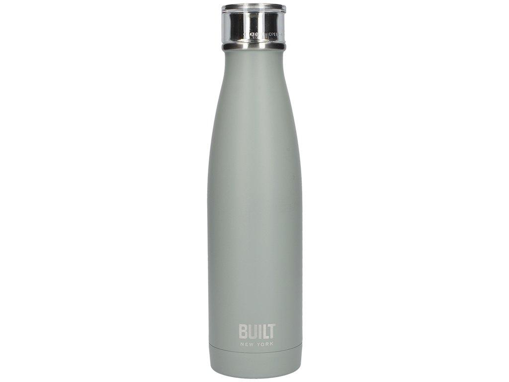 Creative Tops - Láhev na vodu Built šedozelená - 480ml