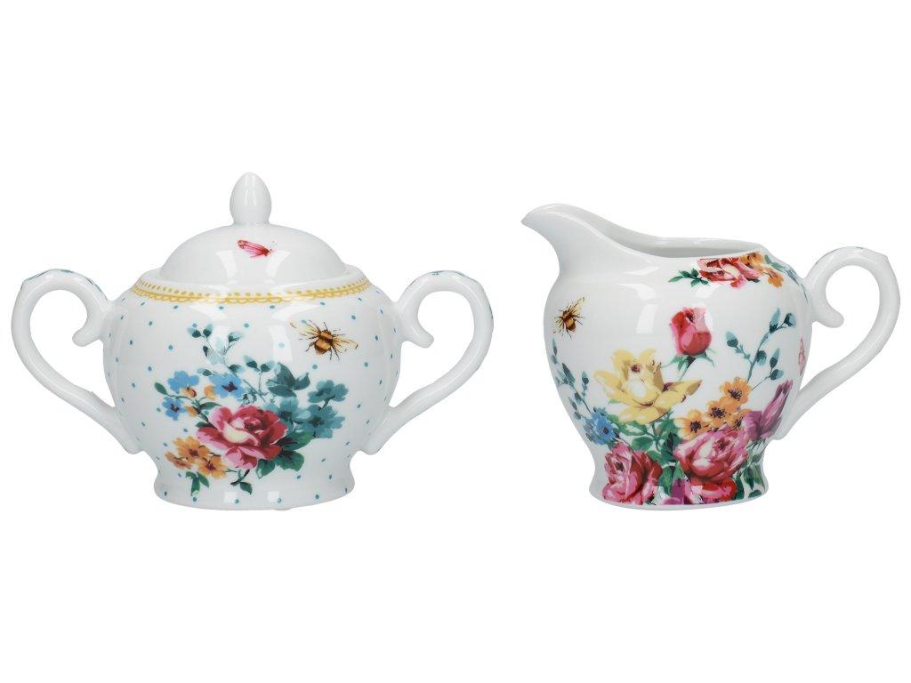 Creative Tops - Porcelánová cukřenka a mléčenka Bohemian Spirit