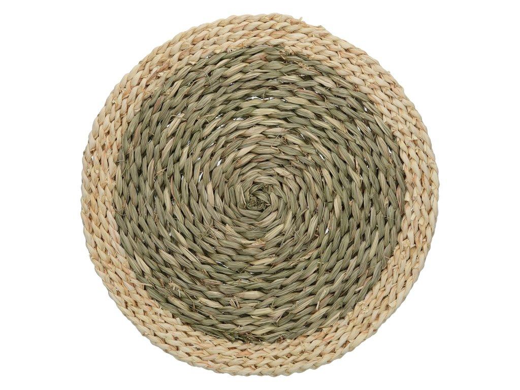 Creative Tops - Kulaté prostírání Naturals Woven Grass /38*38*1 cm/ - 2 ks v balení