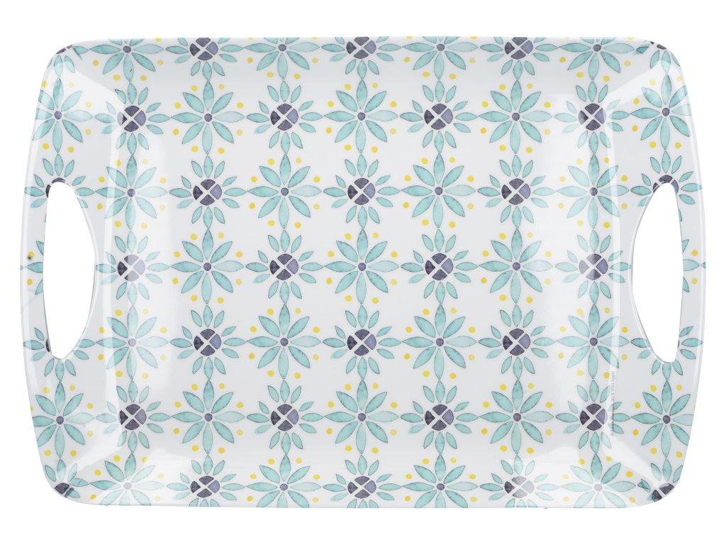 Creative Tops - Melaminový tác Green Tile /47,5*33*0,5 cm/