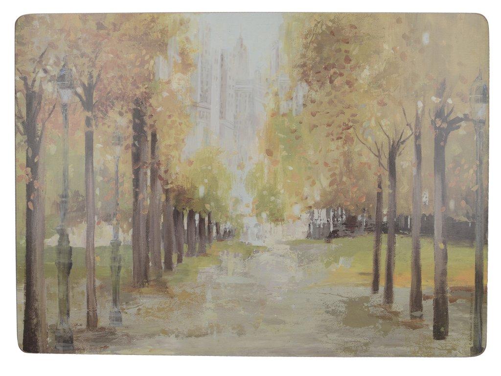 Creative Tops - Korkové prostírání Central Park velké /40*29 cm/ - 4 ks v balení
