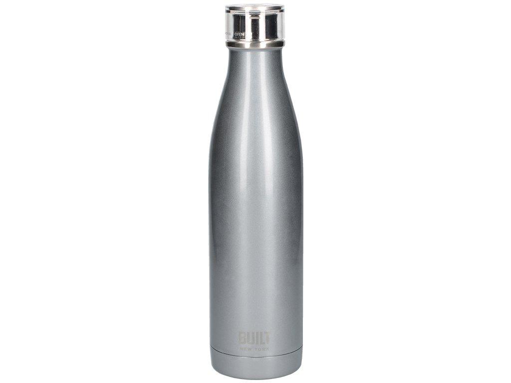 Creative Tops - Láhev na vodu Built stříbrná - 740 ml
