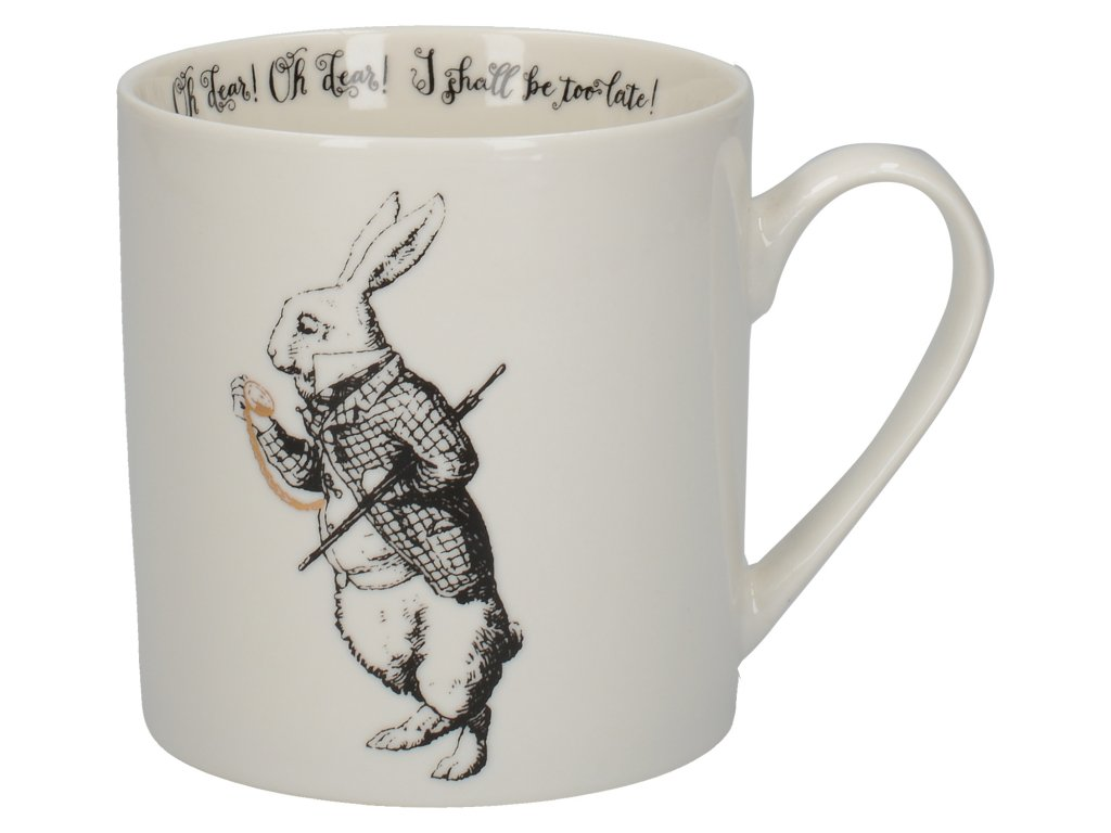 Creative Tops - Porcelánový hrnek White Rabbit - 350 ml