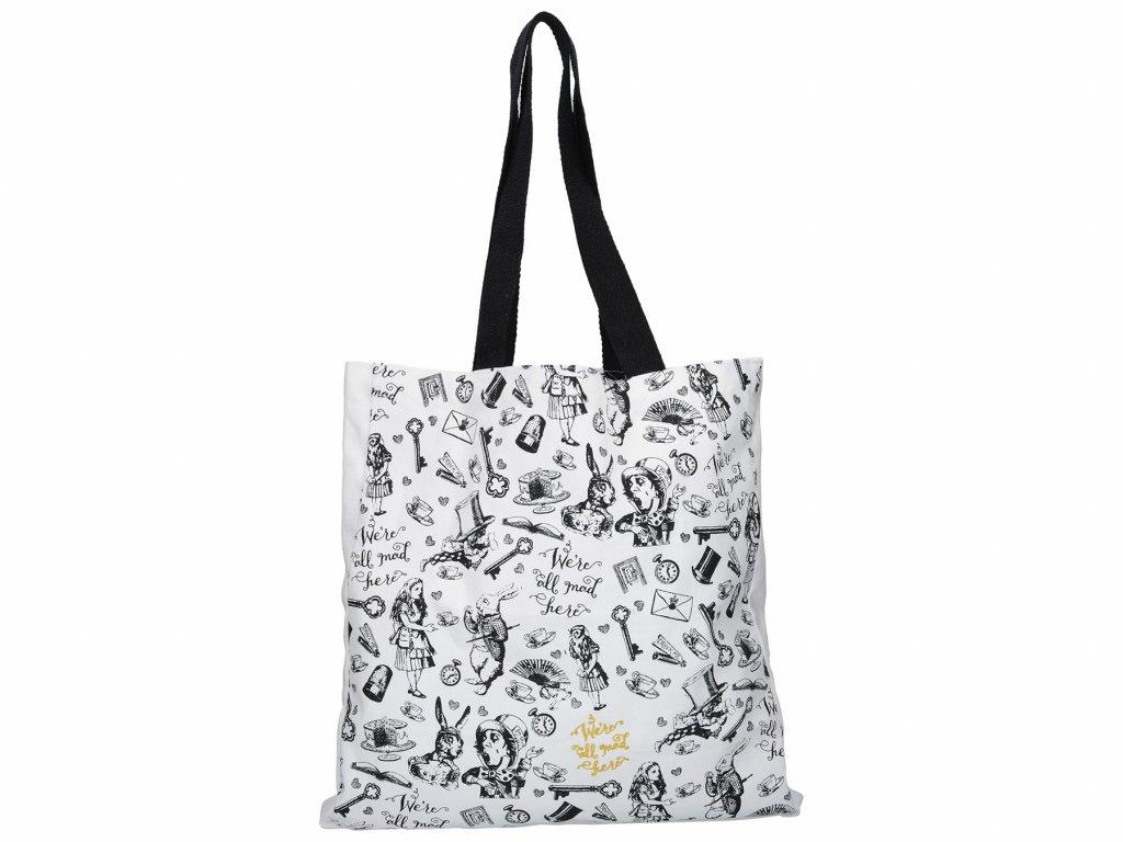 Bavlněná taška Alice In Wonderland