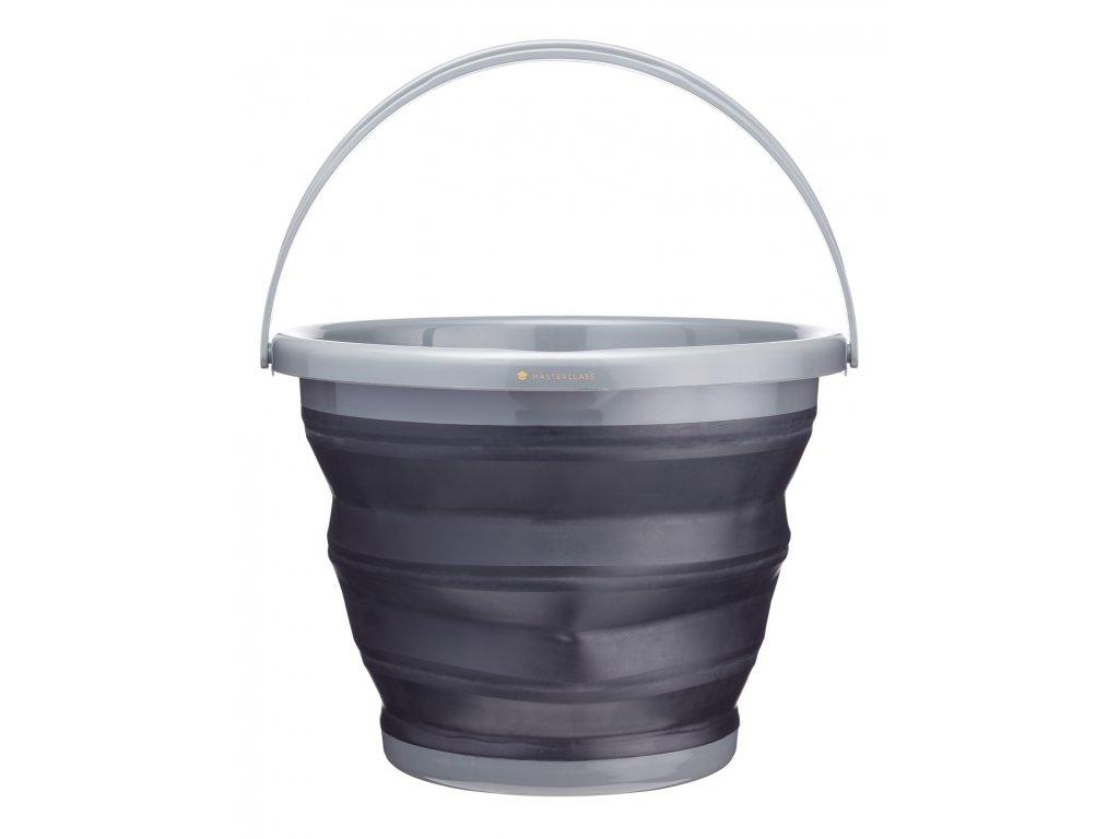 Kitchen Craft - Inteligentní skládací kbelík Masterclass /33,5*33,5*18,5 cm/