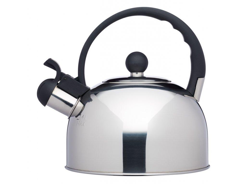 Kitchen Craft - Stříbrná konev Lé´Xpress na indukci