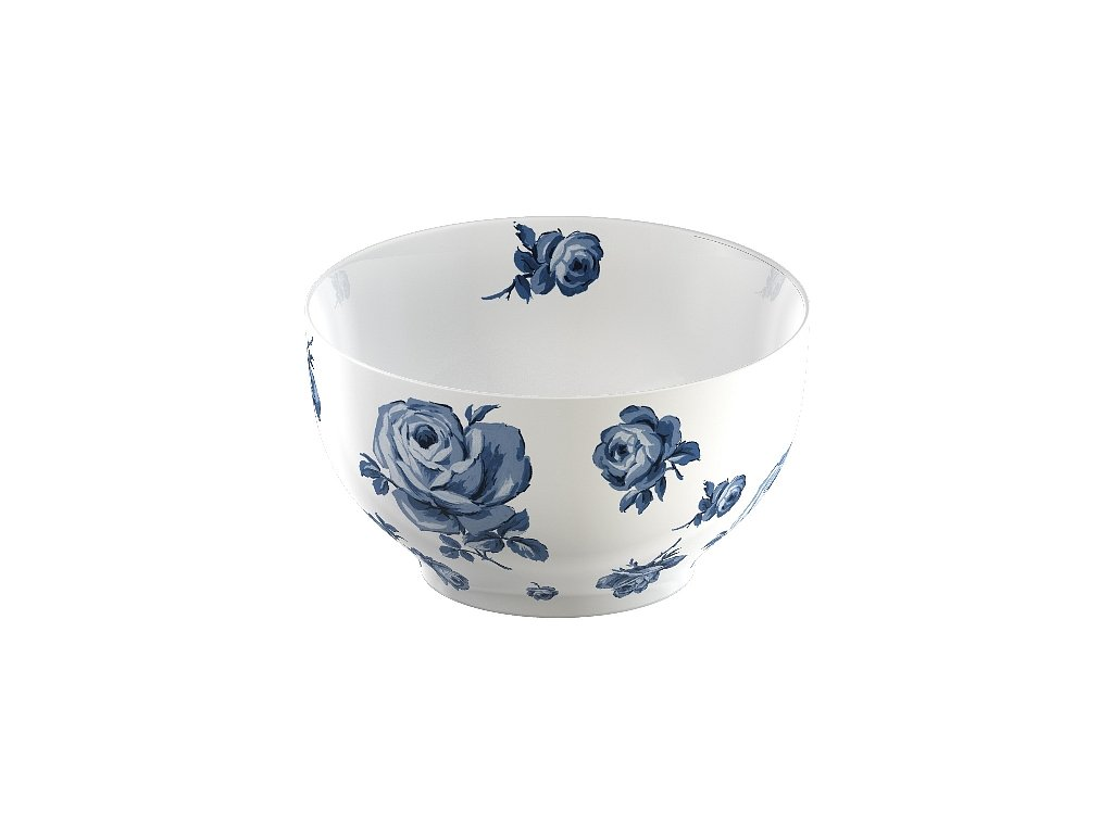 Creative Tops - Porcelánová mísa Vintage Indigo Floral  od Katie Alice - /16*16*8,5 cm/