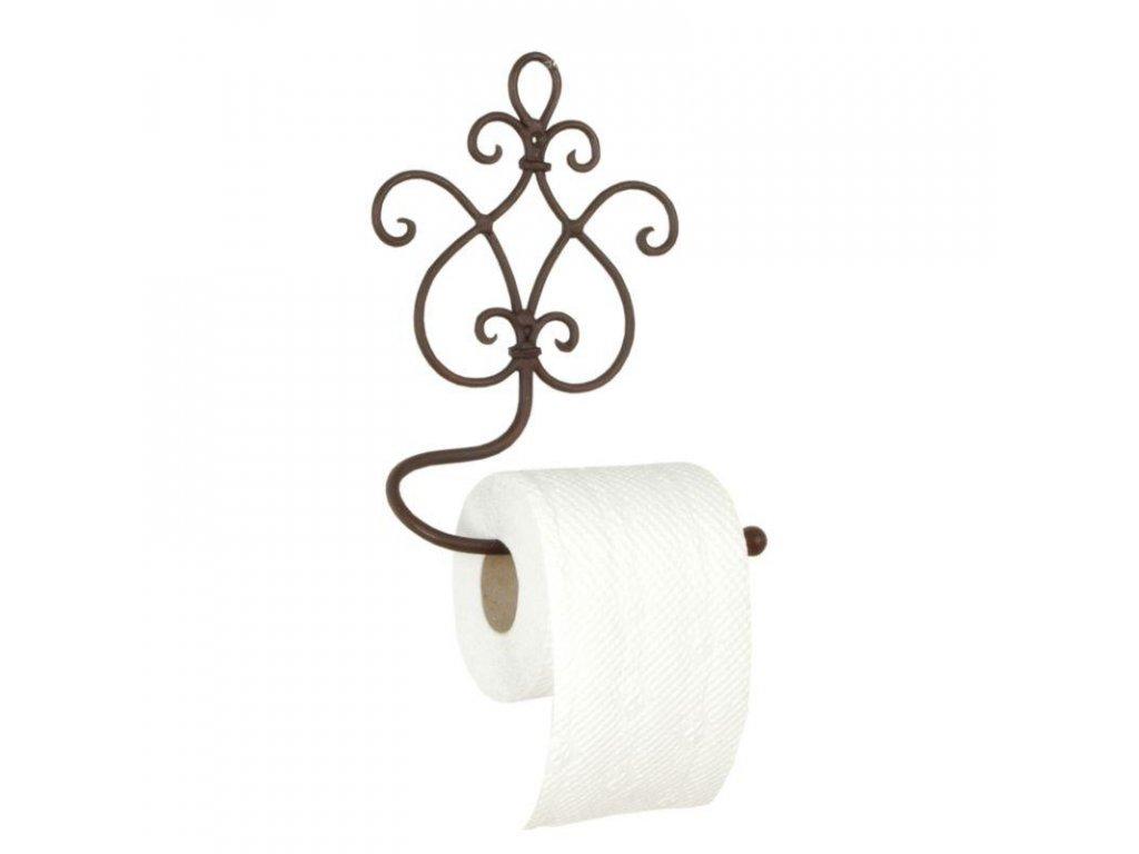 Clayre & Eef - Držák na toaletní papír FLORENCIA - 17 × 7 × 22 cm