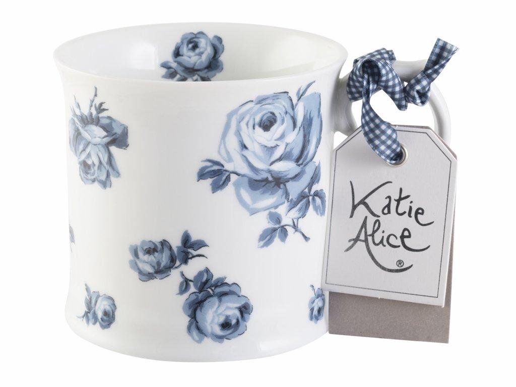 Creative Tops - Porcelánový hrnek Vintage Indigo Floral od Katie Alice - /9*13*10 cm/ - 400 ml