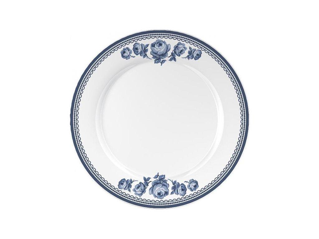 Porcelánový talíř Vintage Indigo od Katie Alice
