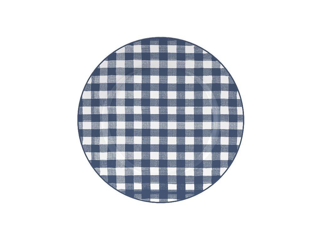 Creative Tops - Dezertní porcelánový talíř Gingham od Katie Alice /19*19 cm/