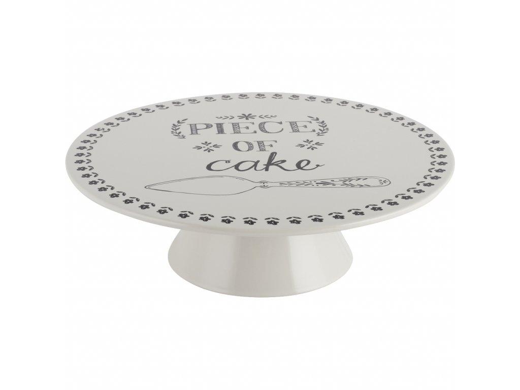 Creative Tops - Dezertní keramický talíř na dorty Stir It Up /25,5*25,5*7 cm/
