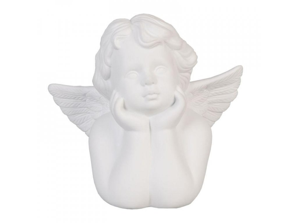 Clayre & Eef - Stolní lampa ANGEL - 25*13*24 cm E27 Max. 60w