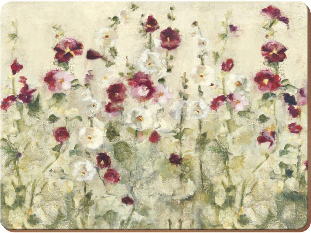 Creative Tops - Korkové prostírání Wild Field Poppies malé /30*23 cm/ - 6 ks v balení