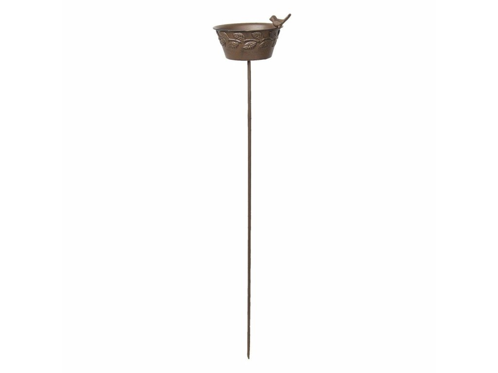 Clayre & Eef - Zápich a ptačí pítko - 20*16*94 cm