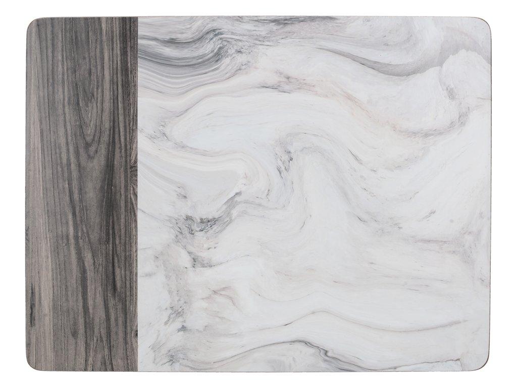 Creative Tops - Korkové prostírání Marble velké - 40*29 cm - 4 ks v balení