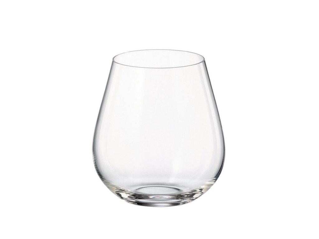 Sada skleniček na víno - 380ml, 6ks, COLUMBA, víno, voda bez stopky