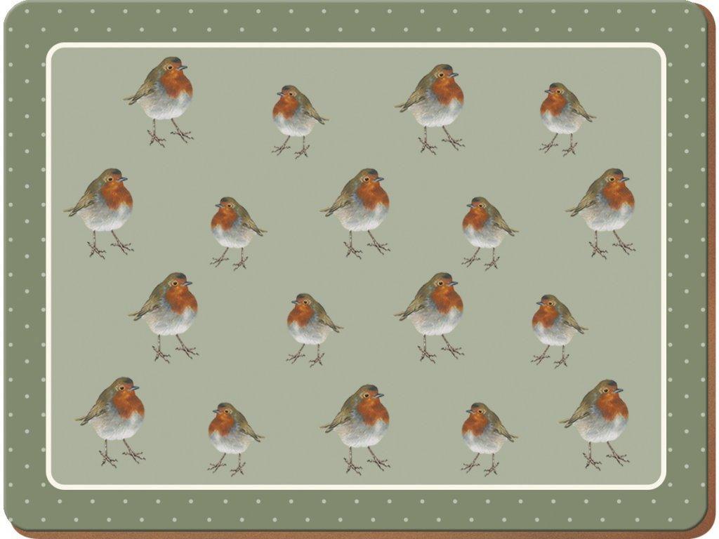 Creative Tops - Korkové prostírání malé Robin /29*22 cm/
