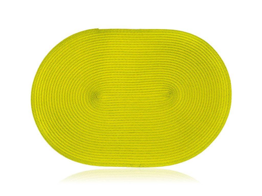 Oválné prostírání - prostírání 45x30cm ovál MADEIRA zelené