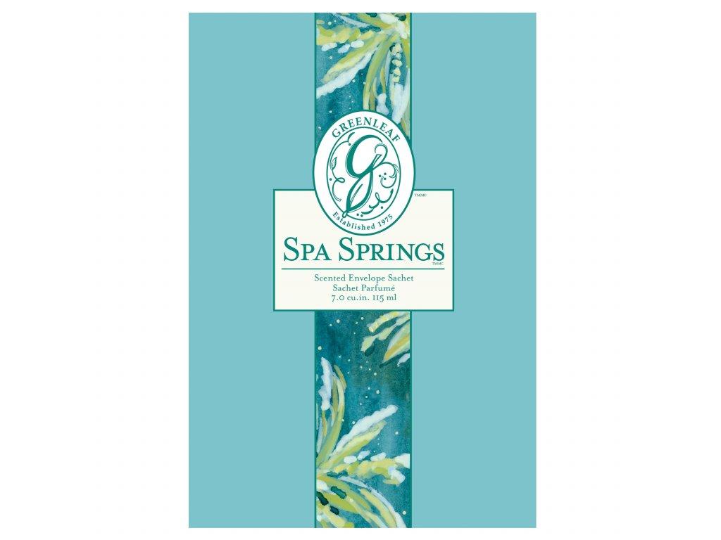 Greenleaf - Vonný sáček Spa Springs