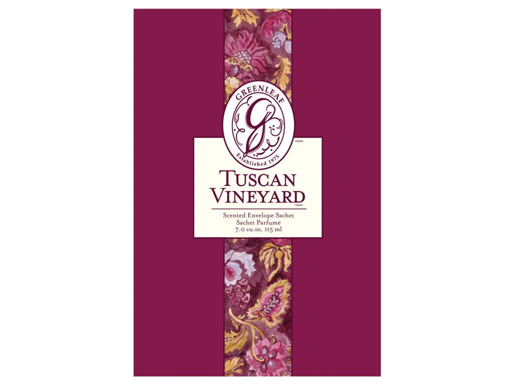 Greenleaf - Vonný sáček Tuscan Vineyard
