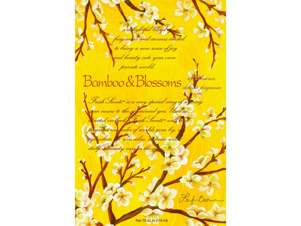 Fresh Scents WillowBrook - Vonný sáček Bamboo&Blossoms