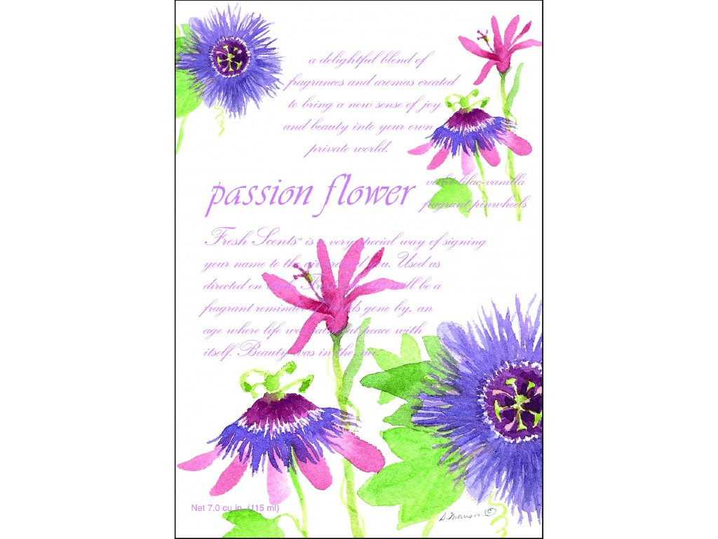 Fresh Scents WillowBrook - Vonný sáček Passion Flower