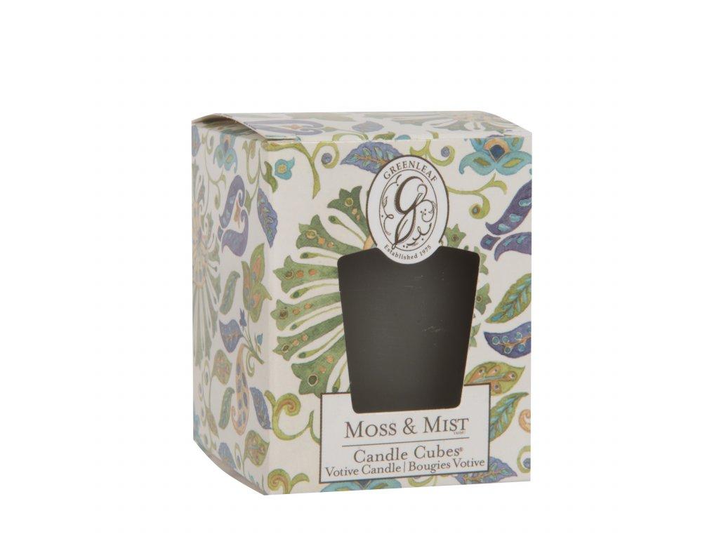 Greenleaf - Votivní svíčka Moss & Mist /4,5*4,8*6 cm/