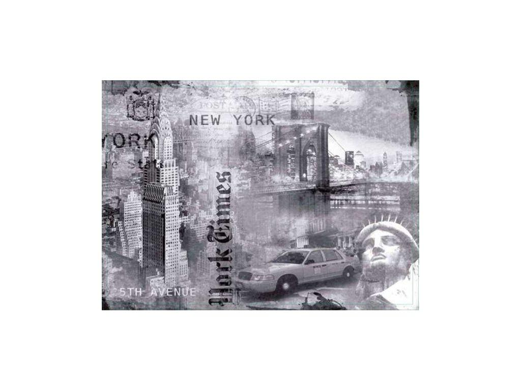 Korkové prostírání New York, střední - /29*21,5 cm/ - 4 ks