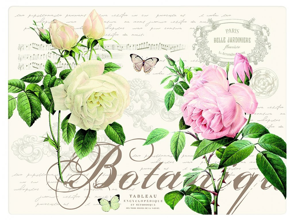 Easy Life - Korkové prostírání Jardin Botanique - /40*30 cm/ - 4 ks