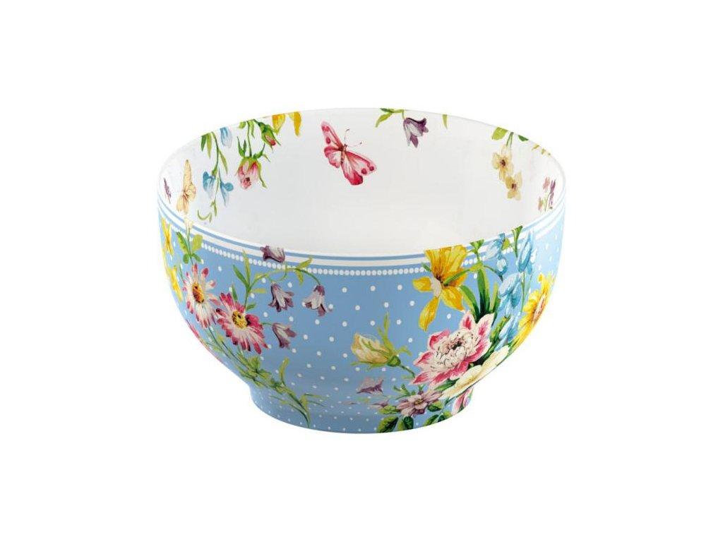 Porcelánová mísa English Garden modrá od Katie Alice