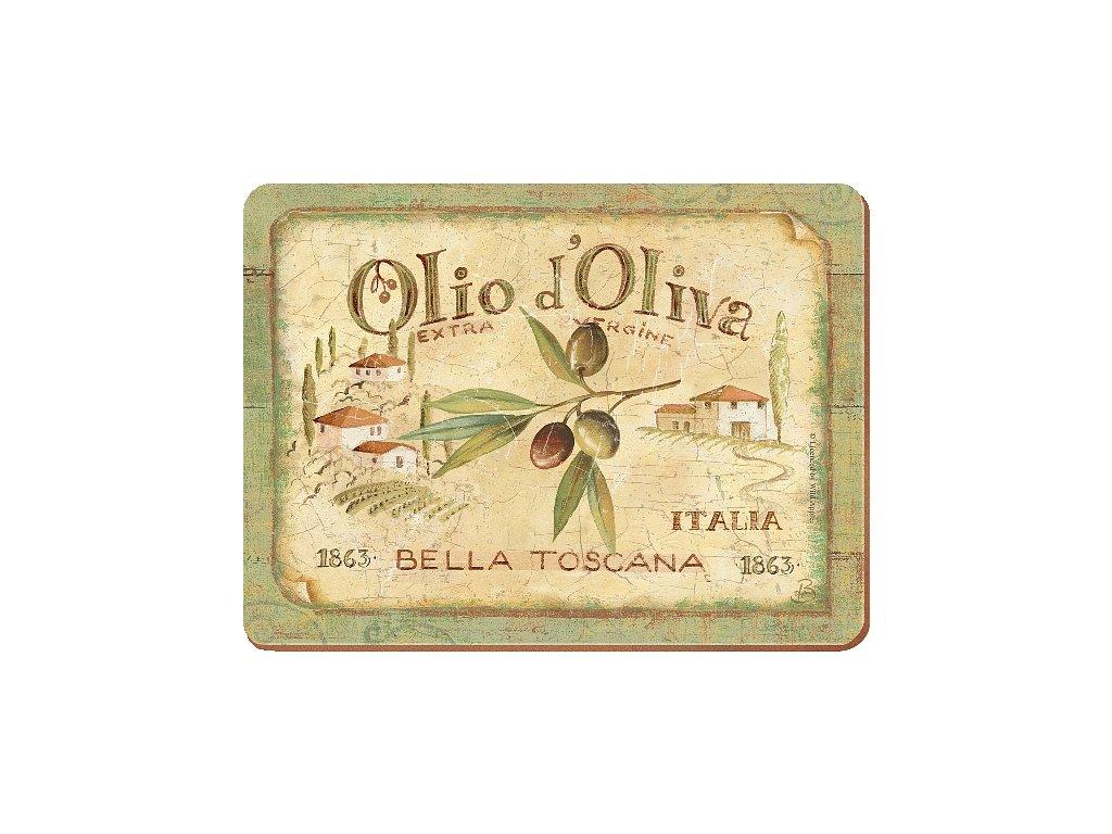Creative Tops - Korkové prostírání Olio D´Oliva malé /29*21 cm/ - 6 ks v balení