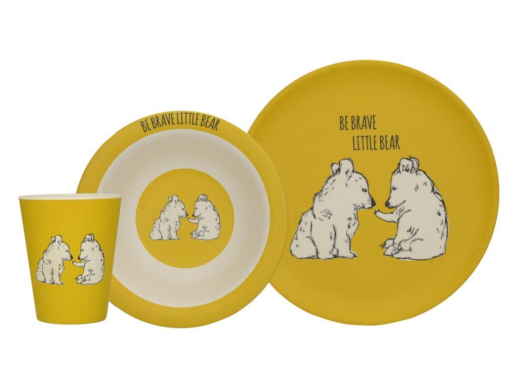 Creative Tops - Dětský jídelní set Wild Bear