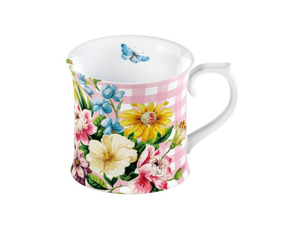 Creative Tops - Porcelánový hrnek English Garden růžový od Katie Alice - 350 ml