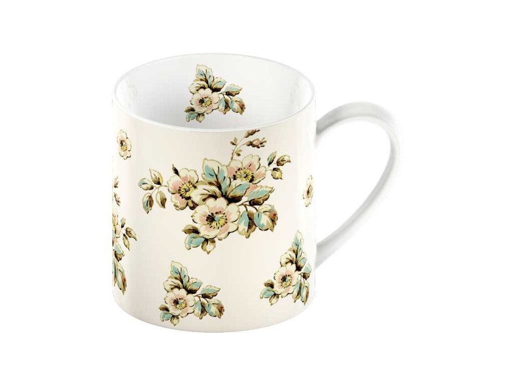 Creative Tops - Porcelánový hrnek Cream Cottage Flower - 330 ml