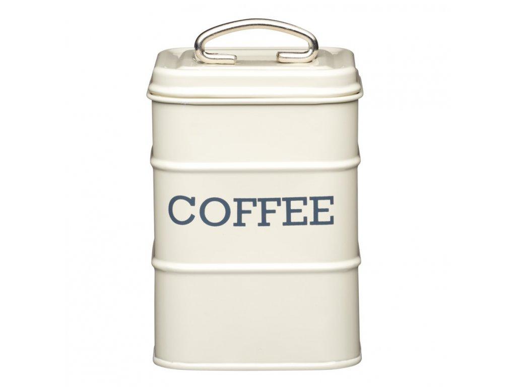 Kitchen Craft - Plechová dóza Living Nostalgia na kávu /11*17*11cm/ - krémová