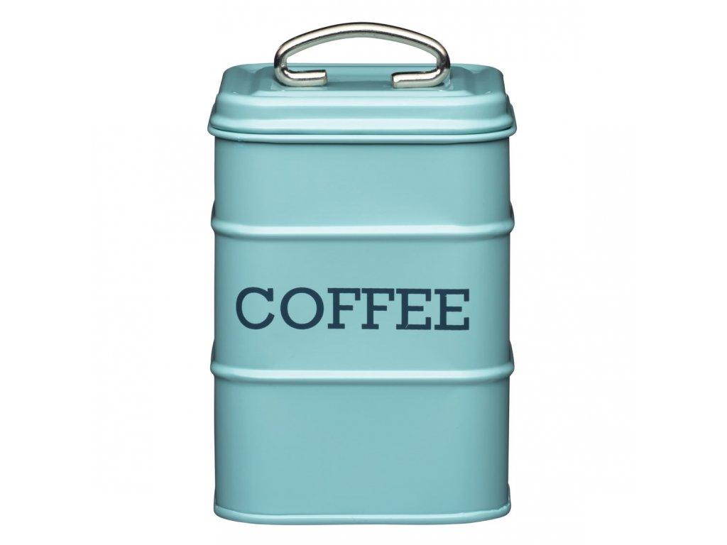 Kitchen Craft- Plechová dóza Living Nostalgia na kávu /11*17*11 cm/ - modrá