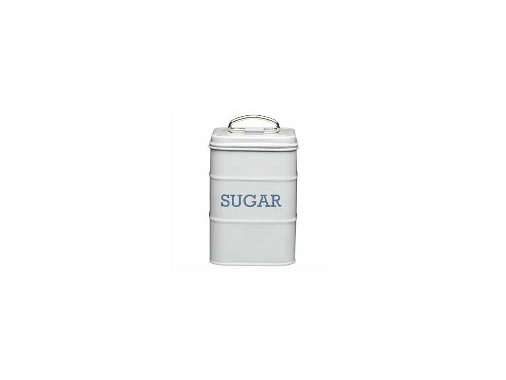 Kitchen Craft - Plechová dóza Living Nostalgia na cukr - šedá