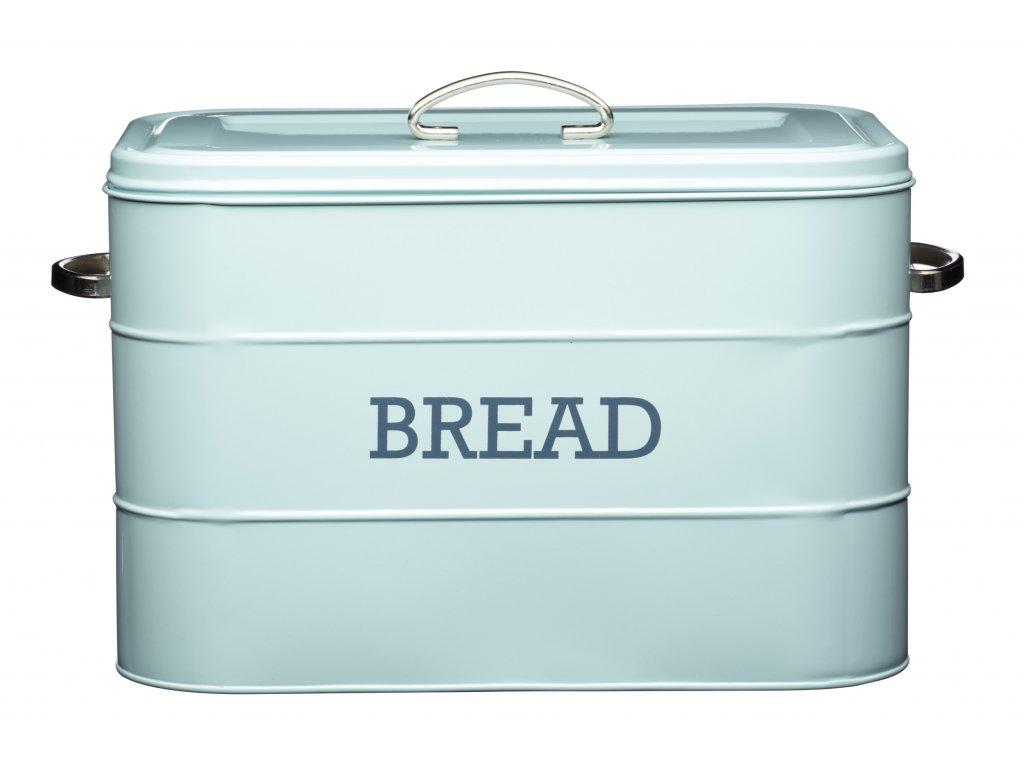 Kitchen Craft - Plechová dóza Living Nostalgia na chleba modrá /34*21,5*25 /