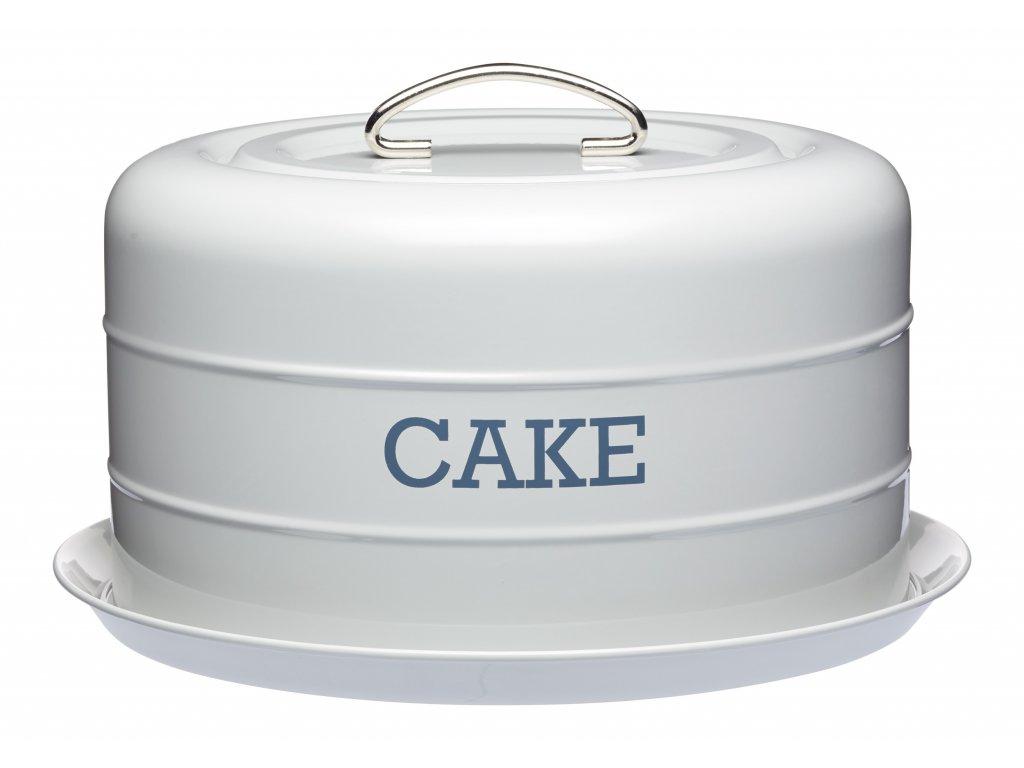 Kitchen Craft - Plechový poklop na dorty Living Nostalgia ŠEDÝ