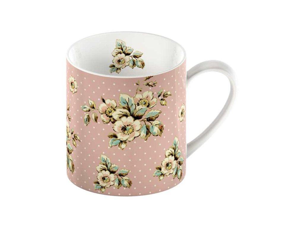 Creative Tops - Porcelánový hrnek Pink Cottage Flower - 330 ml
