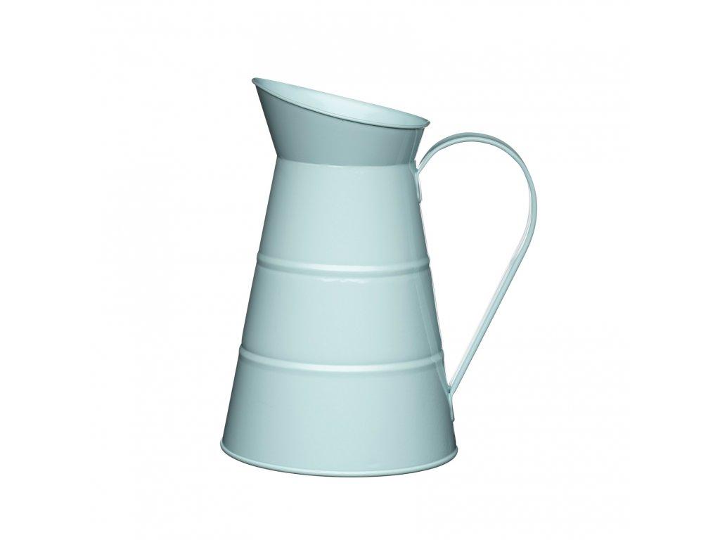 Kitchen Craft - Plechová konev Living Nostalgia modrá /25*16*16 cm/ - Objem je 2,3 l.