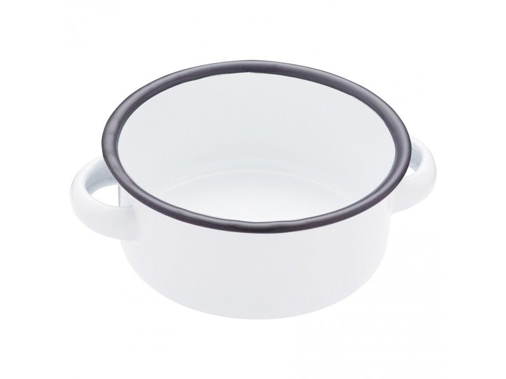 Kitchen Craft - Smaltovaná servírovací miska Living Nostalgia střední /14*14*5 cm/