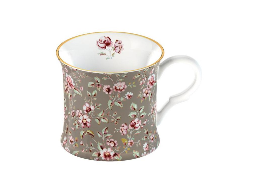 Creative Tops - Porcelánový hrnek Grey Floral - 250 ml