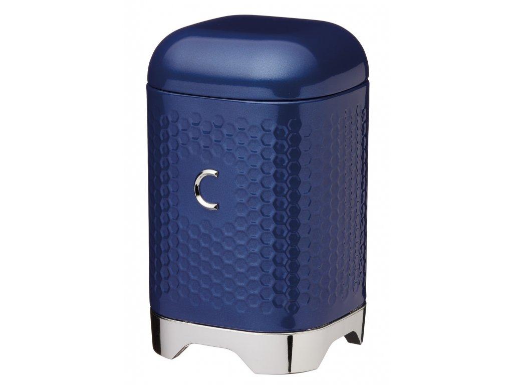 Kitchen Craft - Plechová dóza na kávu Lovello modrá /11*18 cm/
