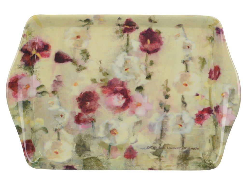 Creative Tops - Melaminový tácek Wild Field Poppies malý /21*14 cm/